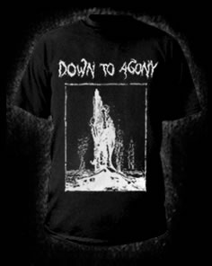 Down to Agony - No vida - Tshirt